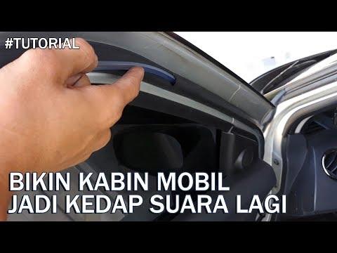 Cara Membuat Kabin Mobil Jadi Makin Kedap Suara
