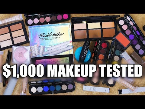 $1000 MAKEUP TESTED ... WTF