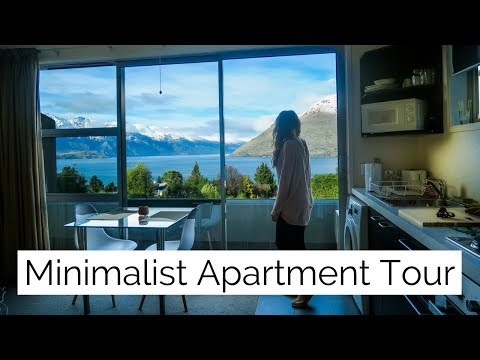Minimalist One Bedroom Apartment Tour ✧ Queenstown, New Zealand