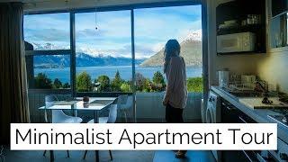 Minimalist One Bedroom Apartment Tour ✧ Queenstown, New Zealand