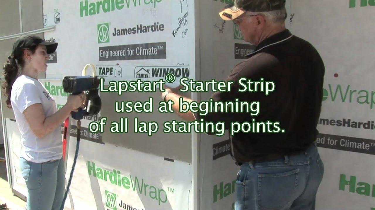 Hardie starter strip