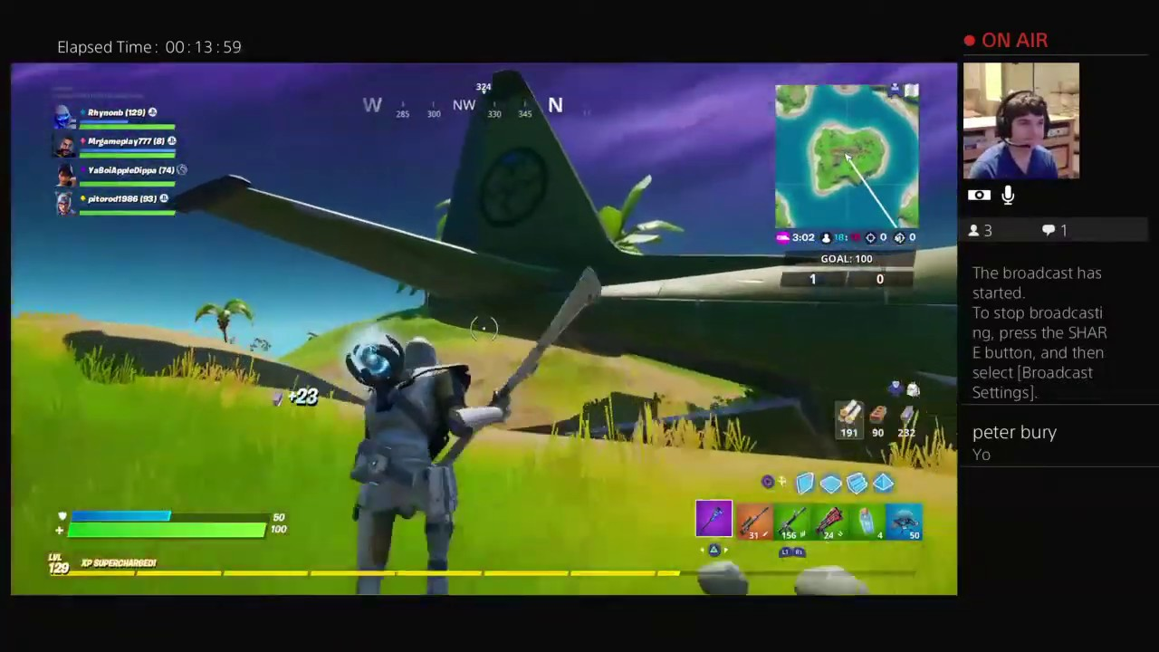 Fornite Doing squads then maybe team rumble