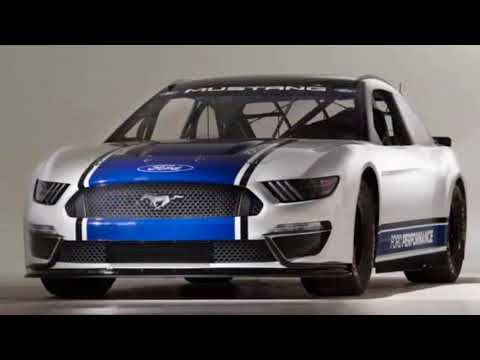 Ford presents the Mustang for the 2019 Nascar Cup first time it will compete in the racing series.