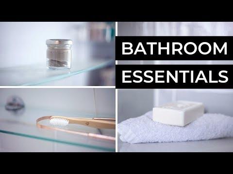 MY LOW WASTE TOILETRIES   bathroom essentials