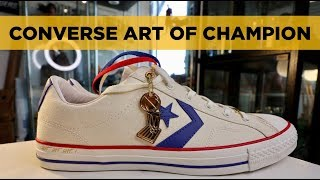 ON-FEET REVIEW: CONVERSE ART OF CHAMPION Star Player Ox
