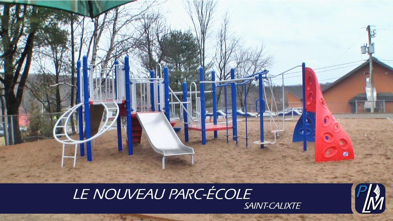 Le Nouveau Parc Ecole St Calixte Youtube
