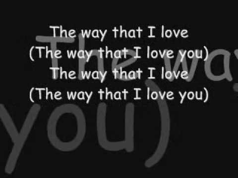 AshantiThe Way That I Love You with lyrics