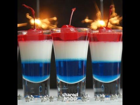 4th Of July Firecracker Jello Cups | Dessert