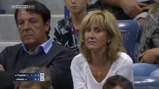 Rafael Nadal vs Fabio Fognini Us Open 2015 Highlights HD