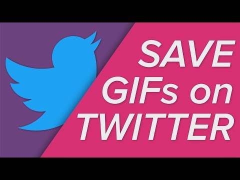 How To Save GIFs On Twitter!