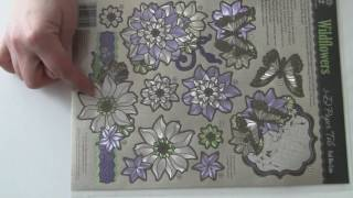 3D Paper Tole: Wildflowers