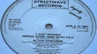 ALTON EDWARDS - i just wanna FUNK TUERIE