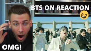 OMG!!! BTS (방탄소년단) 'ON' Kinetic Manifesto Film : Come Prima - Reaction