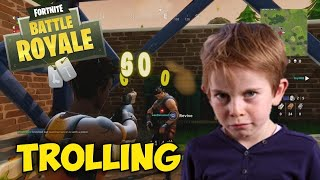 Fortnite,Trolling~Squeaker gets Angry