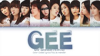 Girls' Generation (소녀시대) — 'Gee' (10 Members ver.) (Color Co…