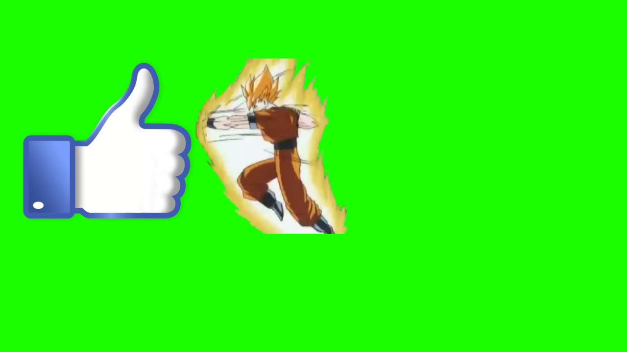 Efeito Chroma Key Like Goku Socando O Like By Eu