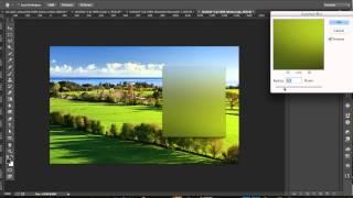 Создаем эффект матового стекла в Photoshop CC