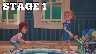 HELLO NEIGHBOR HIDE & SEEK STAGE 1 WALKTHROUGH