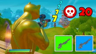 only use the *NEW* NERFED HEAVY SNIPER in fortnite... (so bad)