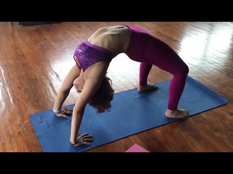 How to do Urdhva Dhanurasana Or Upward Bow Posture? (Backbend)