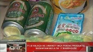 QRT: P1-B halaga ng umano'y mga pekeng produkto, nasamsam mula sa 17 warehouse