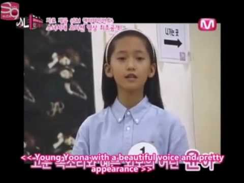 [SNSD] Yoona,Sunny,Soo Young,Hyoyeon,and Seo Hyun Audition Tapes 윤아 오디션