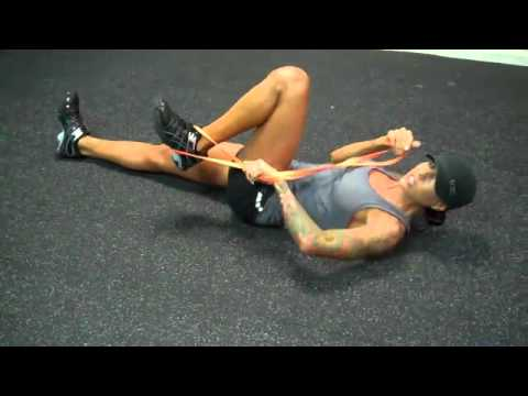 Stretching With Resistance Bands-Aguirre Fitness