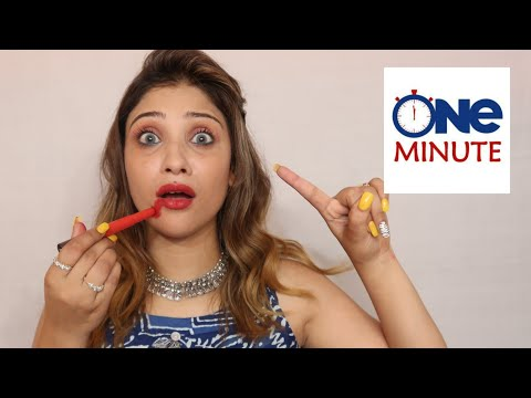 1Min makeup challenge ||  Epic Fail !!! thumbnail