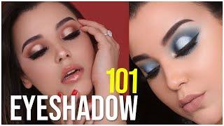 HOW TO MAKE ANY EYESHADOW POP! EYESHADOW TIPS + TRICKS FOR BEGINNERS | MakeupByAmarie
