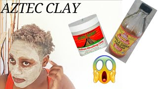 Indian AZTEC Clay Mask on Natural Hair Face Bentonite Clay Natural Hair Naturally Terri