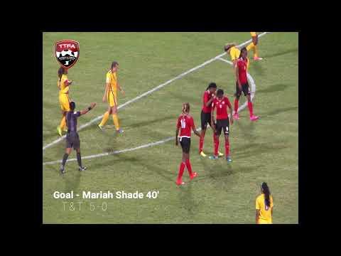 Highlights - T&T Women's 10-0 Win over US Virgin Islands
