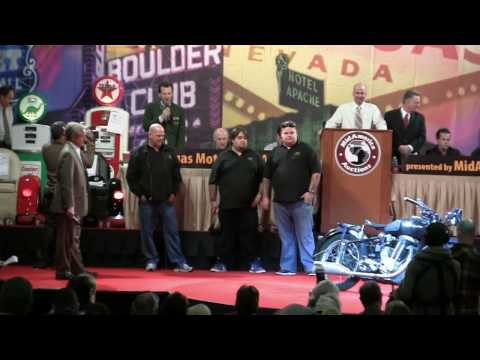 Pawn Stars at Las Vegas Vintage Motorcycle Auction 2010