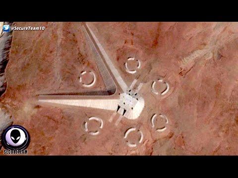 0 - بالفيديو خرائط جوجل تكشف عن وجود مخلوقات فضائية في صحراء مصر