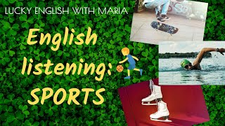 English listening quiz about sports - check your understanding