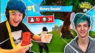 15 Year Old Kid Impersonates Ninja And Wins Fortnite (DELETING HIS CHANNEL)