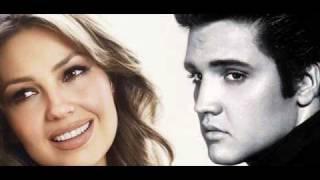 Love Me Tender / Thalia & Elvis Presley - Cancion Completa 2010