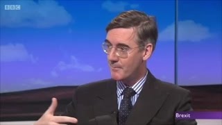 Jacob Rees Mogg schools the idiotic Ken Clarke on Brexit