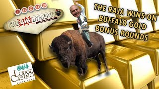 🐃 BUFFALO GOLD 🌟 BONUS ROUND WINS 🌟 OVER 50 FREE GAMES!
