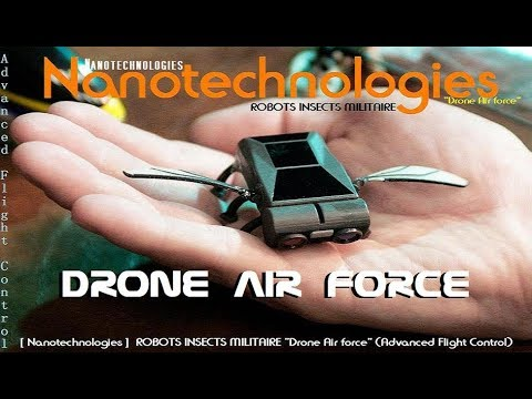 "ROBOTS INSECTS MILITAIRE ""Drone Air force"" (Advanced Flight Control) [ Nanotechnologies ]"