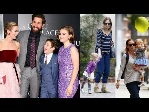 Emily Blunt And John krasinski's Kids And Their Beautiful Moments