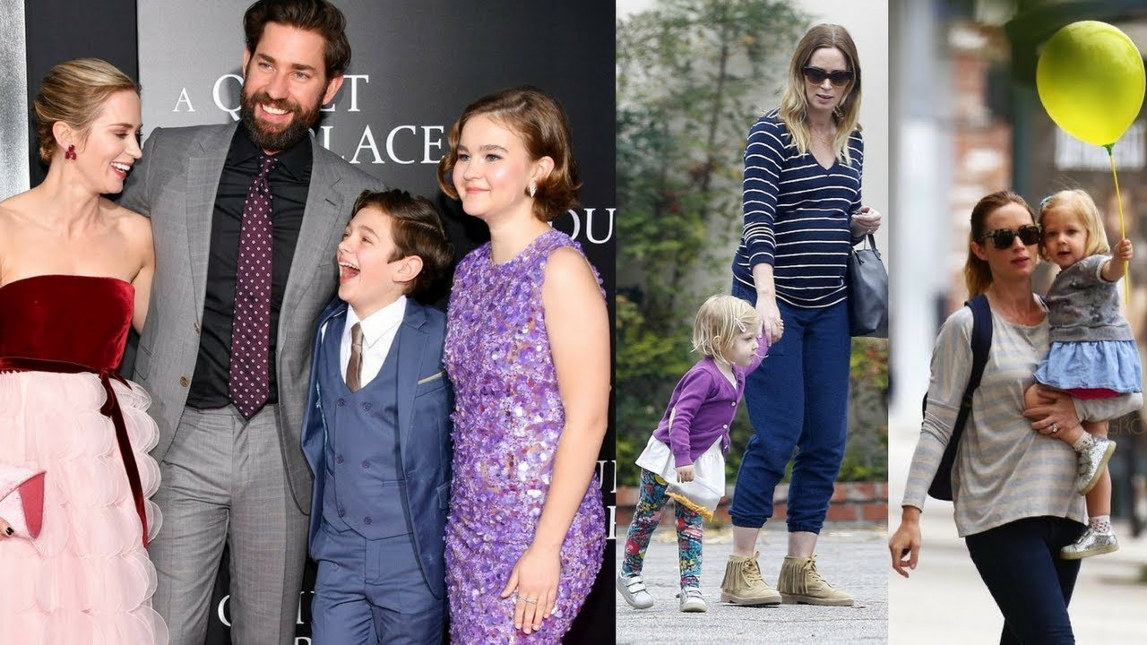 Emily Blunt And John krasinski's Kids And Their Beautiful ...