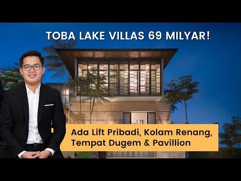 REVIEW TOBA LAKE VILLAS - RUMAH SUPER MEWAH TEPI DANAU