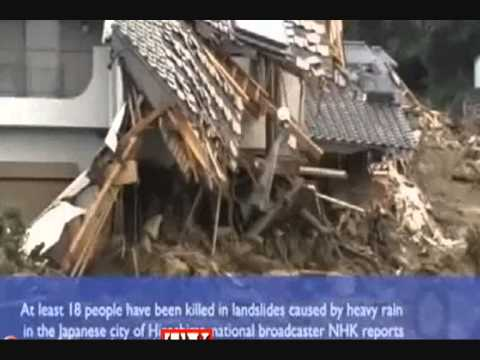 Landslides in Japan: At least 27 people were killed