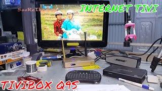 CÁCH KẾT NỐI TIVI MÀN VI TÍNH VỚI TIVI BOX Q9S - Làm Internet Tivi - MANUAL Internet TV BOX Q9
