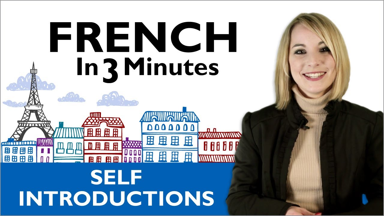 Learn Beginner French - French in 3 Minutes