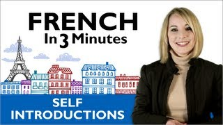 learn french how to introduce yourself in french