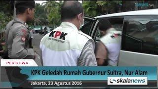 KPK Geledah Rumah Gubernur Sultra, Nur Alam