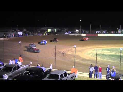 Ronnie Newsome All Star Stock Car Series Heat Race Win 3/22/14 Albany Motor Speedway