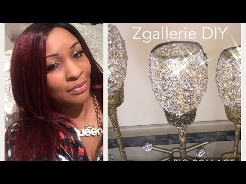 💎 Glam Dollar Tree DIY || ZGallerie Inspired Decor 💎