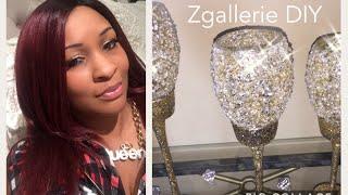 💎 Glam Dollar Tree DIY || ZGallerie Inspired Decor 💎